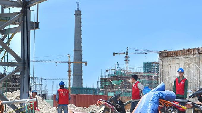 Đình chỉ xây miếu thờ trong dự án Formosa Hà Tĩnh 6