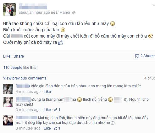 Cộng đồng mạng bức xúc chồng đánh vợ sưng tím mặt đăng chiến tích lên Facebook 6