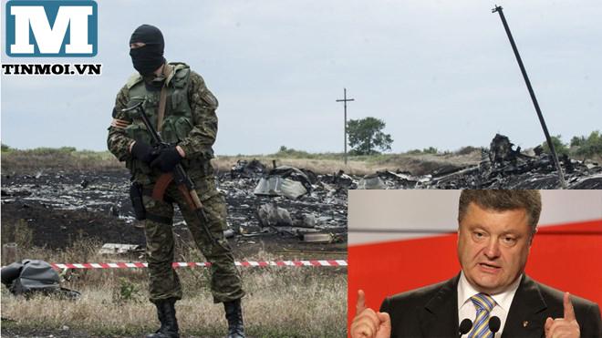 Tổng thống Ukraine: Thảm kịch MH17 giống hệt vụ khủng bố 11/9 4