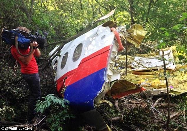 Phát hiện mảnh vỡ còn nguyên ghế và cửa sổ của MH17 trong rừng 8
