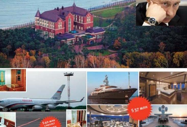 Choáng váng với tài sản khủng của tổng thống Putin 9