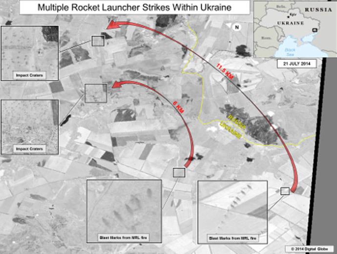 Mỹ công bố ảnh vệ tinh chứng minh Nga bắn rocket sang Ukraine 8