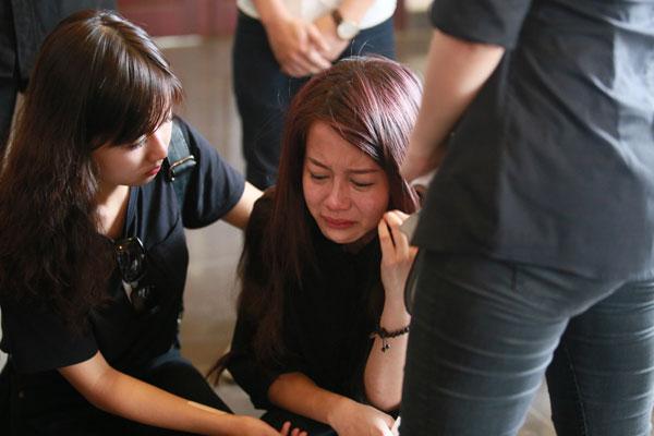 An Nguy đau buồn gửi ảnh lên facebook của Toàn Shinoda sau tang lễ 7