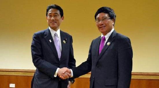 Ngoại trưởng Nhật sang Việt Nam tăng cường hợp tác an ninh hàng hải 5