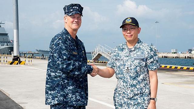 Hải quân Mỹ - Singapore tập trận 11 ngày trên Biển Đông 7