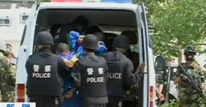 Khủng bố đâm dao ở Tân Cương, hàng chục người thương vong 7