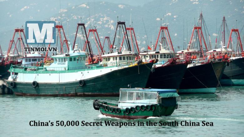 50.000 vũ khí bí mật của Trung Quốc tại Biển Đông 6