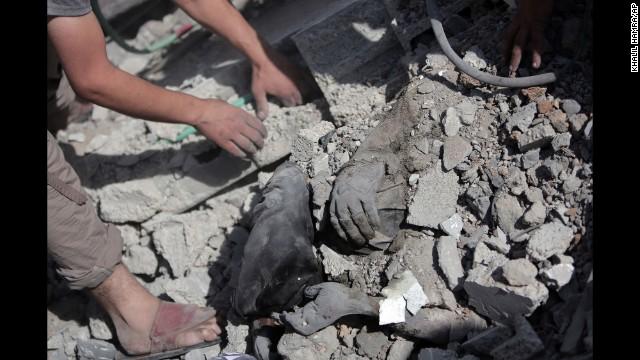 Xung đột đẫm máu tại dải Gaza và những con số ám ảnh 9