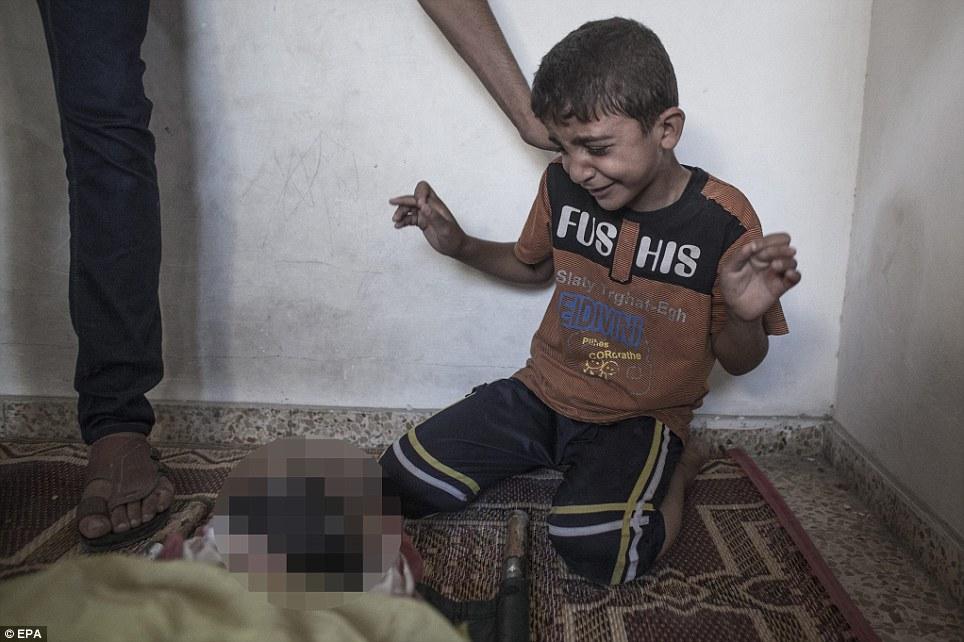 Hình ảnh Máu và nước mắt thấm đẫm Gaza số 12