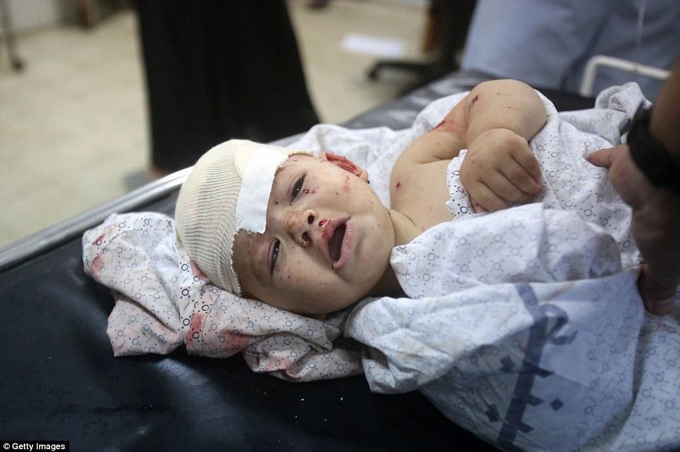 Hình ảnh Máu và nước mắt thấm đẫm Gaza số 7