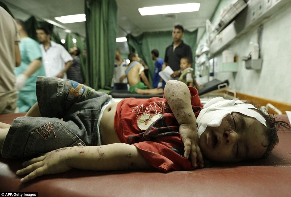 Hình ảnh Máu và nước mắt thấm đẫm Gaza số 9
