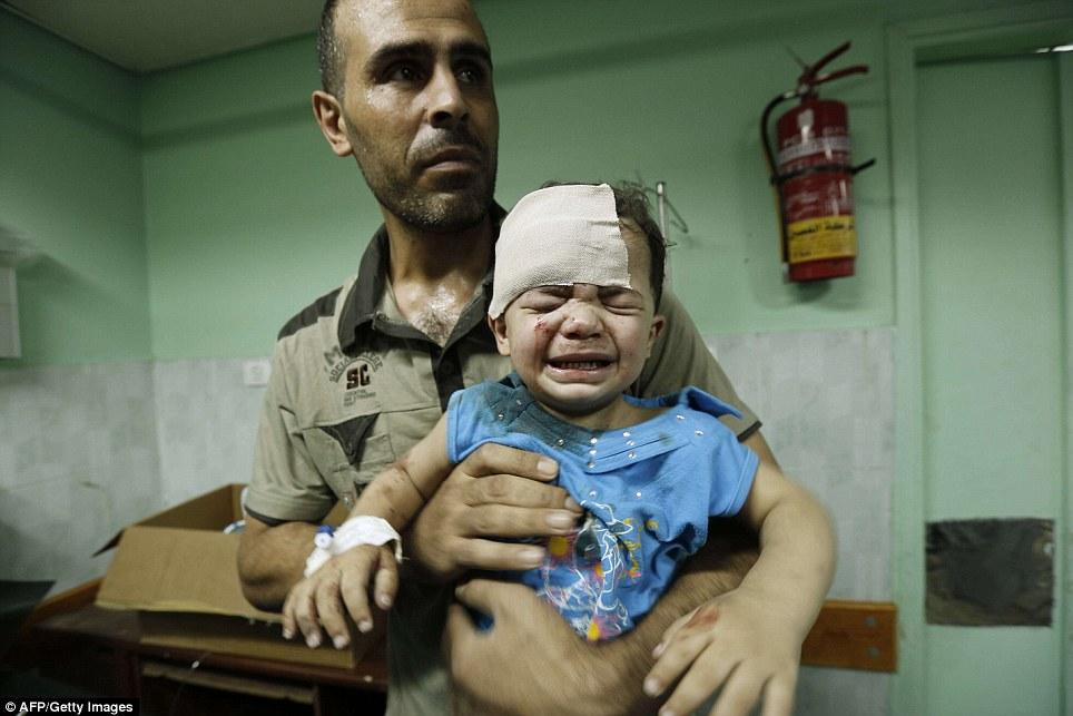 Hình ảnh Máu và nước mắt thấm đẫm Gaza số 10