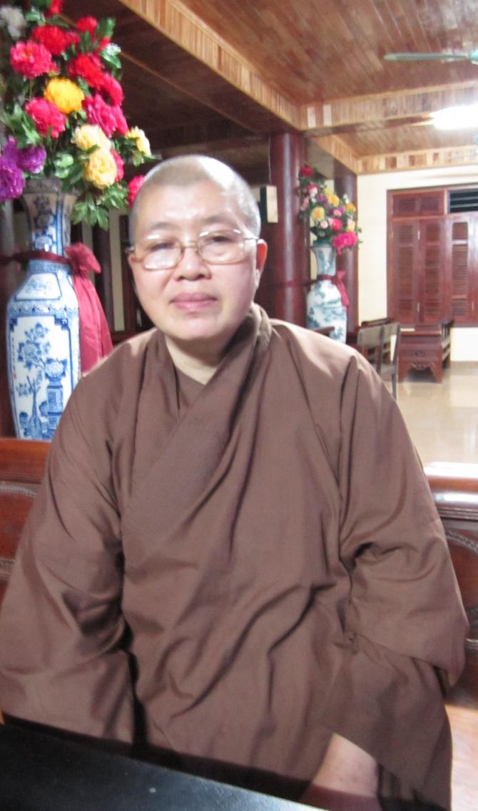 Hình ảnh Sư Thích Đàm Lan nói gì về bảo mẫu chùa Bồ Đề vừa bị bắt? số 1