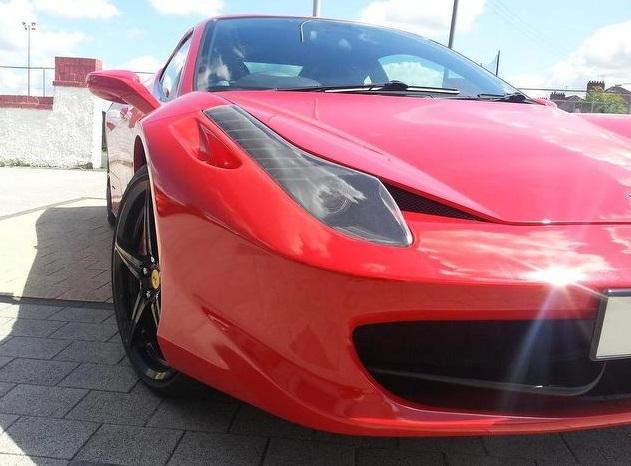 Hình ảnh Ferrari F458 Italia nhái như xe xịn số 1
