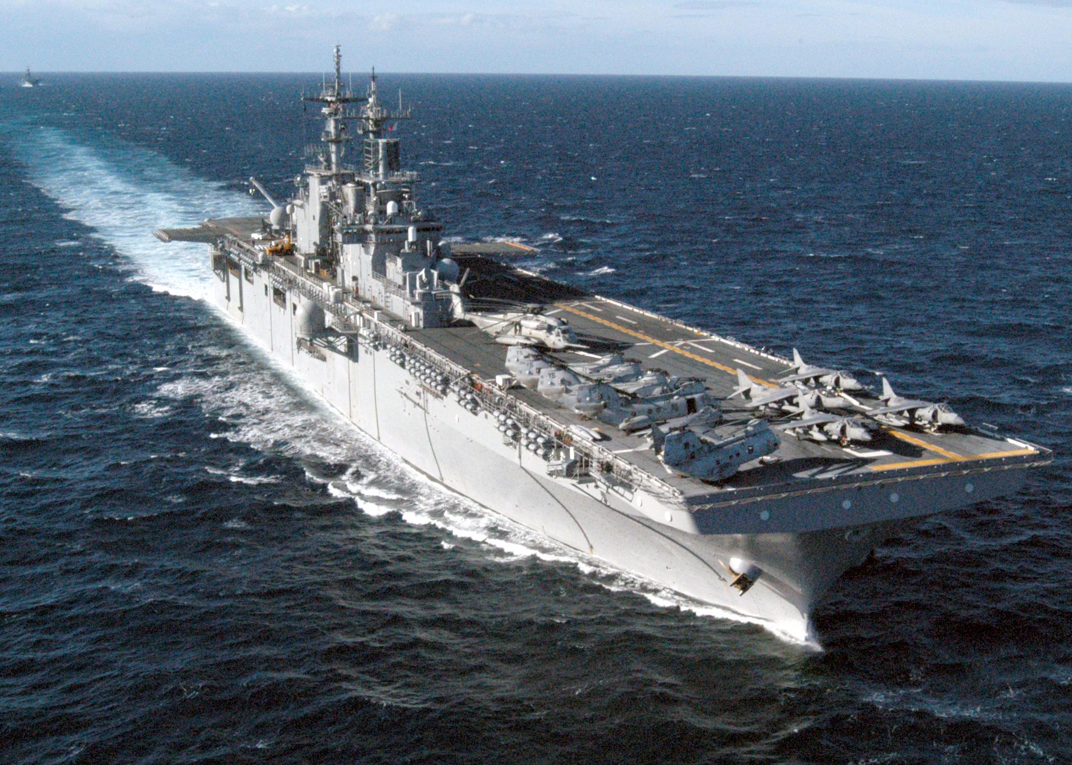 Nhật Bản 'lấn lướt' Trung Quốc với tàu đổ bộ hàng khủng 6