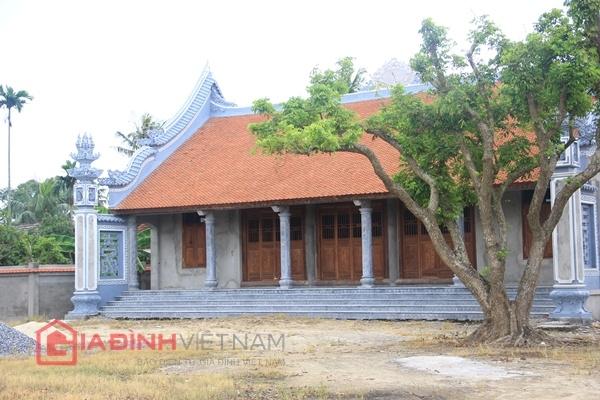 Cận cảnh nhà thờ họ của Trụ trì chùa Bồ Đề Thích Đàm Lan 5