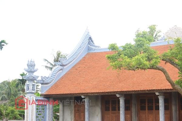 Cận cảnh nhà thờ họ của Trụ trì chùa Bồ Đề Thích Đàm Lan 11