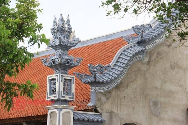 Cận cảnh nhà thờ họ của Trụ trì chùa Bồ Đề Thích Đàm Lan 12