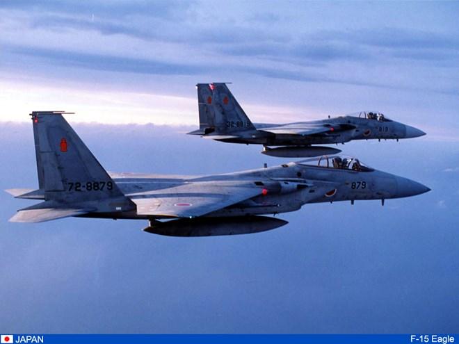 F-15 Nhật truy kích máy bay tuần tra Trung Quốc trên biển Hoa Đông 5