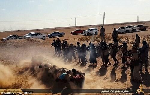 Khủng bố Nhà nước Hồi giáo lại tung ảnh thảm sát người hàng loạt 5