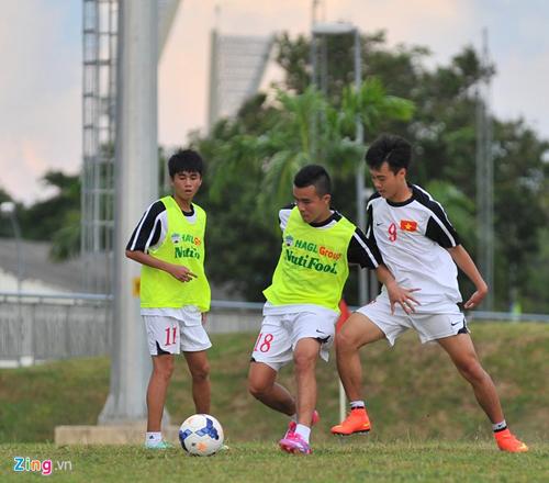 U19 Việt Nam dùng đội hình dự bị trong trận đấu với U21 Malaysia 6