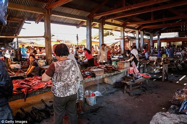 Rùng mình khám phá khu chợ món ăn kinh dị  8
