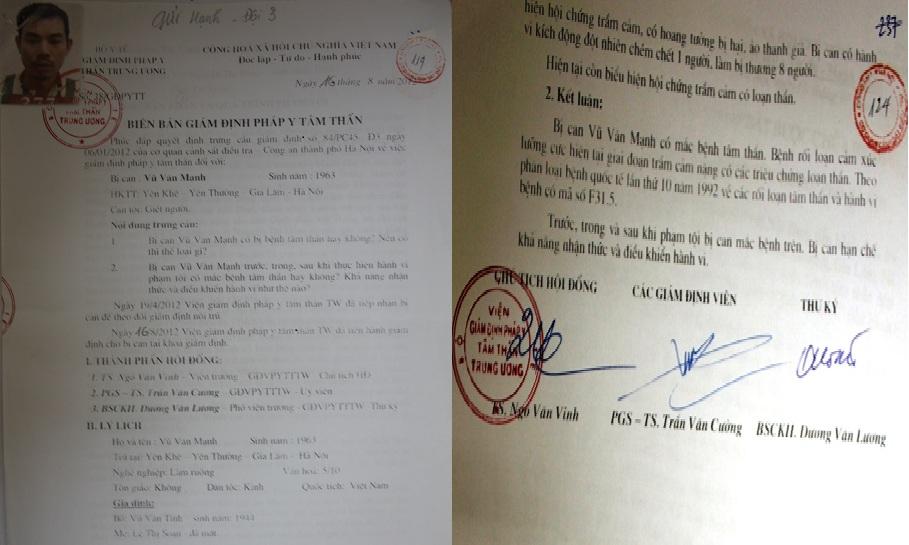Hà Nội: Người tâm thần vẫn bị kết án tù chung thân 6