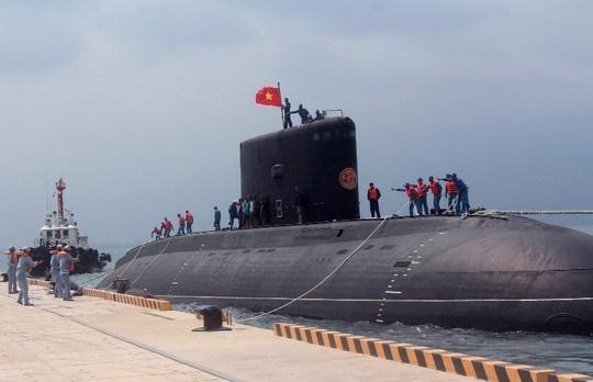 Việt Nam nhận tàu ngầm Kilo thứ 3 vào cuối năm nay 6