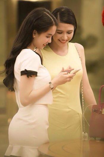 Hoa hậu người Việt thế giới 2014 gửi lời cảm ơn Ngọc Trinh  6