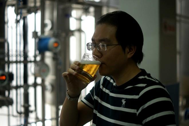 Tận mục quy trình sản xuất bia uống không say đầu tiên ở Việt Nam 8