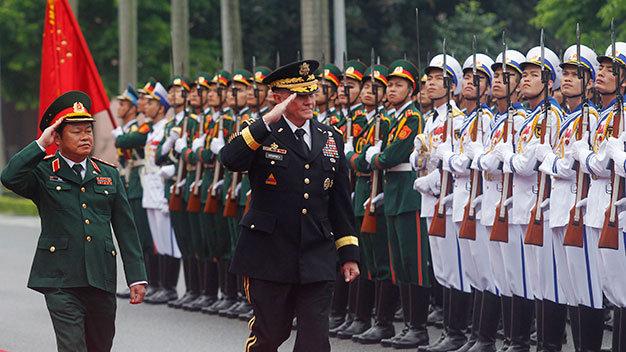 Việt Nam - Hoa Kỳ triển khai hợp tác 5 lĩnh vực quốc phòng 5