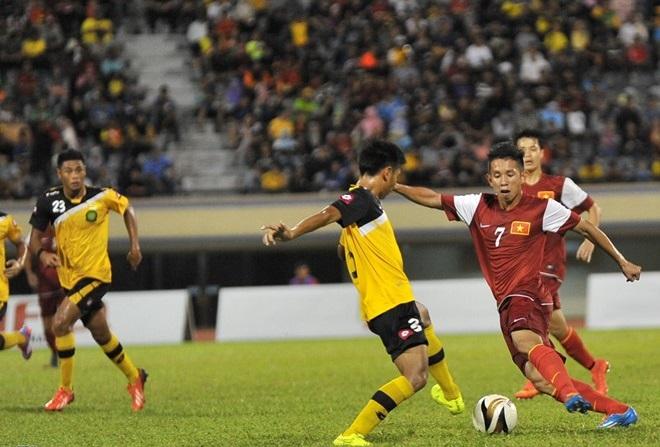 Màn trình diễn của U19 Việt Nam khiến khán giả Brunei thán phục 7