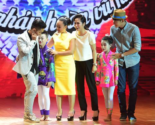 Bước nhảy hoàn vũ nhí: Ốc Thanh Vân bị Đoan Trang cướp thí sinh  5