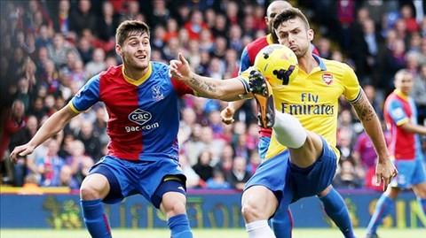 Arsenal - Crystal: Chiến thắng trong tầm tay của