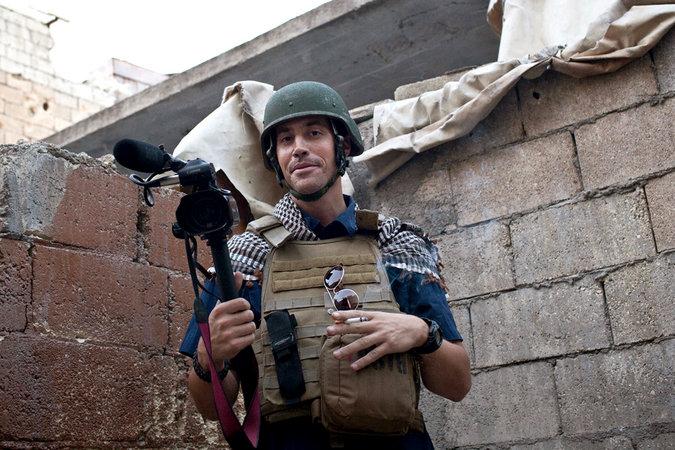 Quân khủng bố ISIS chặt đầu nhà báo Mỹ 7