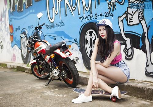 Trà Ngọc Hằng làm cô gái hippie cực ngầu 6