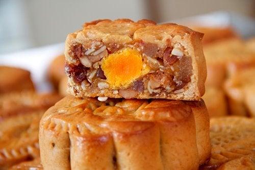 Cách làm bánh Trung thu nướng nhân thập cẩm ngon, dễ làm 5