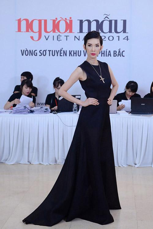 Siêu mẫu Xuân Lan trở lại ghế nóng Vietnam's Next Top Model 2014 5