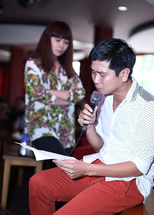 Lưu Hương Giang mặc sexy đi tập hát cùng trò cưng  6