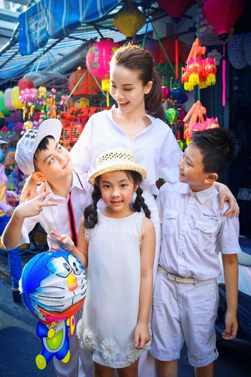 Yến Trang đón trung thu sớm cùng thí sinh Bước nhảy hoàn vũ nhí 2014 7
