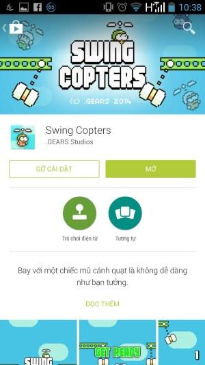 Game mới của Nguyễn Hà Đông Swing Copters 'ức chế' hơn Flappy Bird 6
