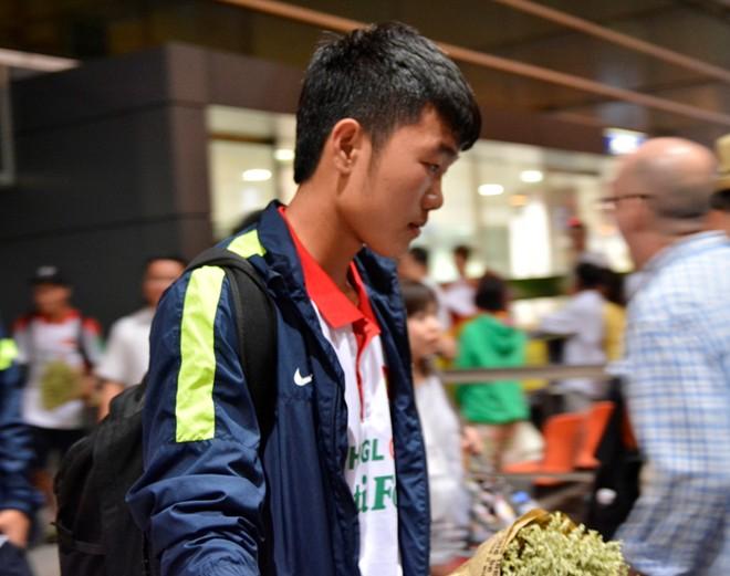 U19 Việt Nam buồn bã khi trở về nước 13