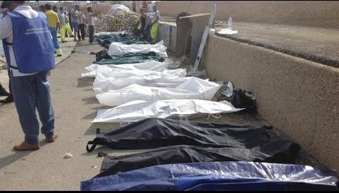 Đã tìm thấy 170 thi thể vụ chìm thuyền ngoài khơi Libya 3