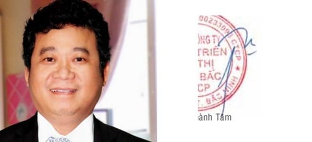 Chữ ký của các doanh nhân giàu có nhất Việt Nam 11