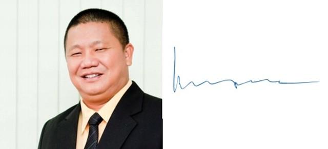 Chữ ký của các doanh nhân giàu có nhất Việt Nam 8