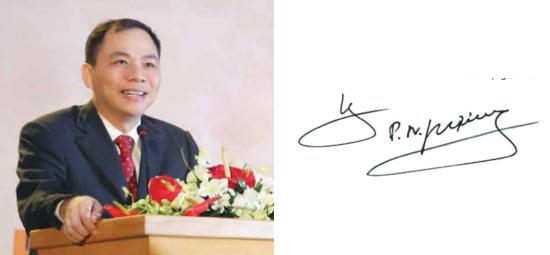 Chữ ký của các doanh nhân giàu có nhất Việt Nam 7