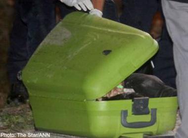 Mẹ đánh chết con, nhét xác và valy đem giấu trong rừng 4