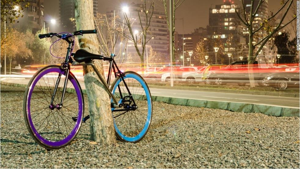 Chiếc xe đạp chống trộm đầu tiên trên thế giới 5