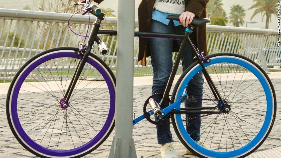 Chiếc xe đạp chống trộm đầu tiên trên thế giới 7