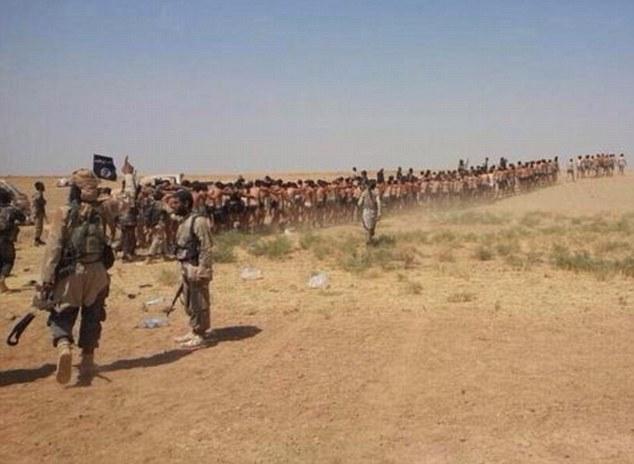IS tiếp tục gây sốc khi tung video hành quyết tập thể 250 binh sĩ Syria 8